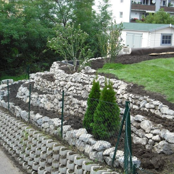 Murlasits Gartengestaltung mit Planung, Ausführung und Pflege- Steingarten mit Terrassen