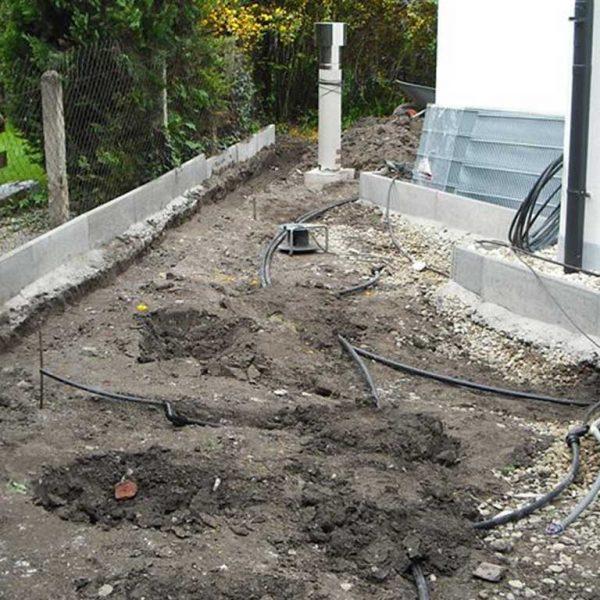Murlasits Gartengestaltung mit Planung, Ausführung und Pflege - Bewässerungsarbeiten im Steingarten