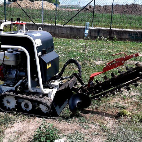 Maschinen Grabenfräse